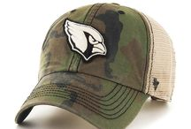2015 NFL Howitzer Burnett Camo Hats / Don't worry football fans, we've got hats to satiate your hunger for camo as well!  Sadly they don't camouflage how some teams started off the season this year, but as George Michael said, you gotta have faith!