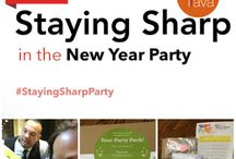 Staying Sharp In The New Year Party / #StayingSharpParty #Sponsored #aarp January 24, 2014 - Education for a healthy brain and keeping your mind sharp! http://www.houseparty.com/event/stayingsharp/party/903329