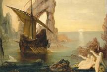 Mermaids & Sirens in modern art