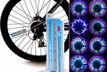 Bringa kellékek, kiegészítők / Biciklizéshez nélkülözhetetlen, és hasznos kütyük tárháza. A kerékpározásnál három fő szempontot kell figyelembe venni, láthatóság, kényelem és biztonság.