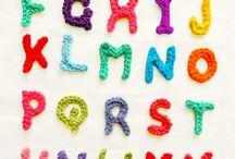 Crotchet letters