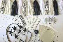 New Year's Eve in Style / Decorations for your chic New Year's Eve party! #2015 #NYE #Decor #Newyears