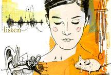 illustrationen von tina zellmer / what i love to do most - making illustrations