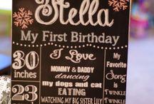 1st Birthday Girl