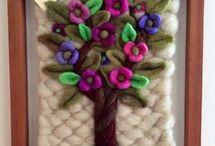 árbol en telar