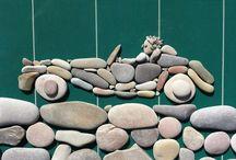 Pebble art -διακόσμηση με βότσαλα