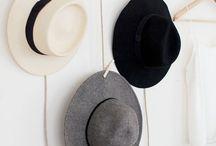Decorative hat racks