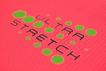 Ultra Stretch™ Heat Transfers / Our Ultra Stretch™ heat transfers are characterized by an improved elongation ability on fabrics with high content of lycra, spandex, polyester or nylon, providing a smooth textured feel.