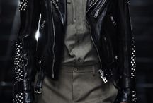 Bikerjacket with studs