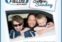 Fields Selfie Sunday starts now! Just tag your car-selfie photo with #FieldsAuto & #SelfieSunday & you might see yours, right here!