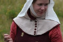 Medieval moments / dress and musical instrument