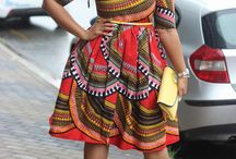 African Style / Beautiful and vibrant. I want all of these.