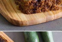 zucchini bread and breads