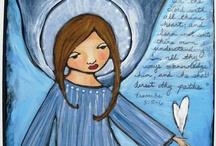 Love Folk Angels / Folk angels, art angels, craft angels, historic angels