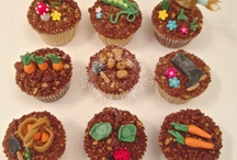 Gardening Cupcakes / As part of our Garden Bug Cupcake Class you can learn how to create these adorable garden designs.
