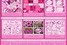 My Kit Collections - Freebies / Sets of Mini Kits combined together to make a large Kit collection to use in Scrapbooking & CardMaking All Kits are full sized and saved at 300dpi