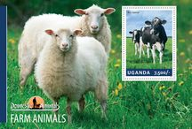 New stamps issue released by STAMPERIJA | No. 397 / UGANDA 26 02 2014 - CODE: UGN14201A-UGN14210B