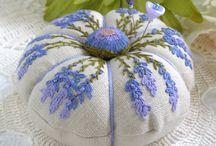 Sew...pin cushions / by Carolynne Mason