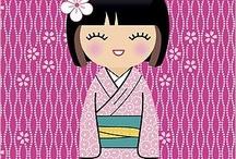 Kokeshi Doll / Cute