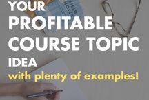 - course creation // portable income toolkit - / On line classes and course creation guides and  for #portableincome entrepreneurs.