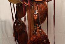 Vaquero Saddles / Hand made by Tokala Sha Western Saddlery - www.tokalasha.com