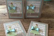 joulukortit ja koristeet