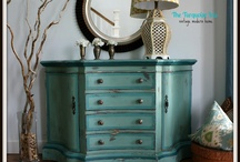 Antique/Vintage Furniture Given New Life **Ideas