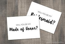 Bridesmaid Invitations / Our Will You Be My Bridesmaid cards goes beyond just Bridesmaid proposals! With our gorgeous note cards, you can also ask them to be your Maid of Honor, Matron of Honor, Flower Girl, Junior Bridesmaid, Ring Bearer, Honorary Bridesmaid, Maid of Honour, Matron of Honour, Man of Honor, and even Bridesman.