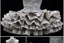 Robes en papier ... Paper dresses