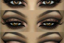 Makeup og øjenvipper