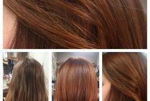 Cheveux / Coloration végétale