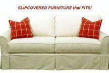 Cottage Furniture | Slipcovered Sofas