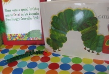 Very Hungry Caterpillar Party / by Ashley Pavel