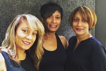 Medium Hairstyles by Midori / Lovely medium hairstyles by our various stylists at Midori.