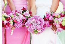 pink / Pink Wedding Mood Board