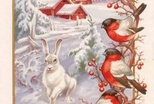 Magic Christmas Cards and Arts