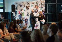 Earth Day Fashion Show / http://www.avenuefive.com/  #avenuefive #fashion #fashionshow #cosmetologyschool