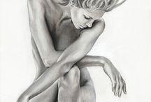 Rajzok, festmények