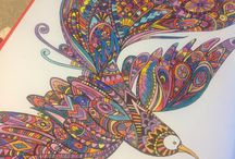 Coloriages / by Mermaid's Tears