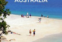 Australia Travel  / Inspirational, informational and motivational travel tips and travel advice for your Australia adventure! Let's go travel Australia and plan your trip! Includes the outback, Sydney, Melbourne, Australia road trip planning and kangaroos!