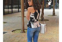 BCN / T-shirt: Zara Jeans: Zara Shoes: Marypaz Bag: Parfois