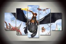 how to train a dragon bedroom