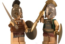 Lego collection ancient warriors