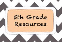 | 5th Grade | / 5th Grade Learning and Educational Resources / by TeachersPayTeachers