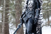 Fantasy weapons and armour