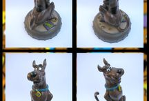 Sculpt / My Sculpts ! Maquettes made with fimo and colored with acrylic paints !