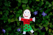 The Flat Francesca Project / My granddaughter shared this project with me. I was honored to show Flat Francesca around my garden and other cool sited in Bartow County, Georgia.  We had a great time! I had to mail her back last week. I miss her. LOL!