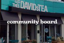 Community Board / by DAVIDsTEA