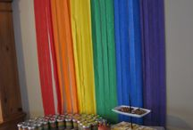 Rainbows display