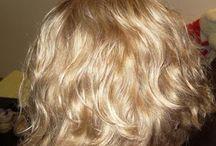 Волосы: оттенки, прически